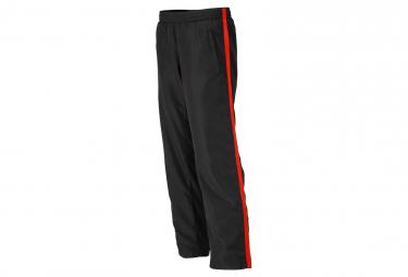 James et Nicholson pantalon running jogging JN489 - noir - tomate - femme - course à pied