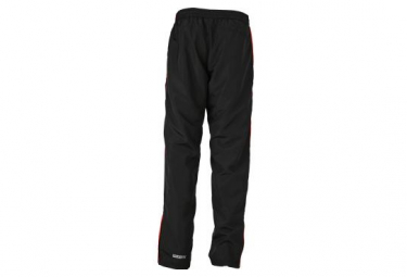 James et Nicholson pantalon running jogging JN490 - noir - tomate - homme - course à pied