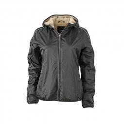 James et nicholson veste hiver coupe vent femme jn1103 noir