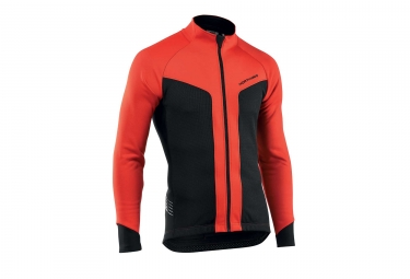 Veste northwave reload noir rouge s