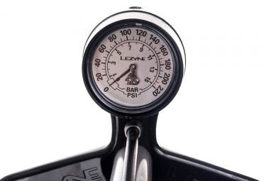Pompe à Pied Lezyne Steel Floor Drive ABS-1 Pro Gris