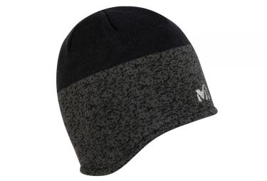 bonnet millet tyak earflap noir