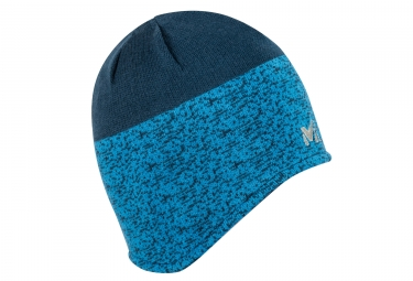 bonnet millet tyak earflap bleu noir
