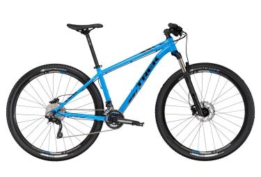 vtt semi rigide trek x caliber 9 27 5 shimano deore 10v bleu 13 5 pouces 147 154 cm