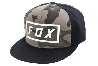 casquette fox fumed camo