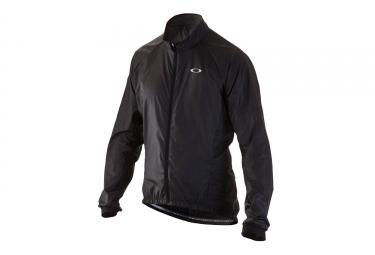 veste coupe vent manches longues oakley jawbreaker noir s