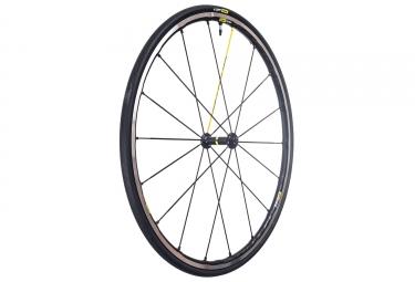 roue avant mavic ksyrium elite ust tubeless noir gris yksion pro ust 25mm