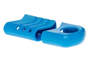 rotor kit de protections de manivelles raptor bleu