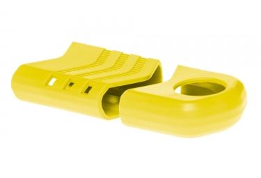 rotor kit de protections de manivelles raptor jaune