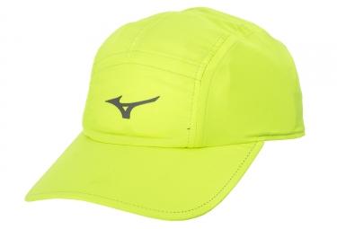 casquette mizuno drylite run jaune