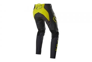 Pantalon Fox FlexAir Noir Jaune