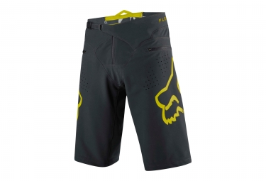 short fox flexair noir jaune 30