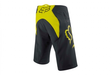 Short Fox FlexAir Noir Jaune