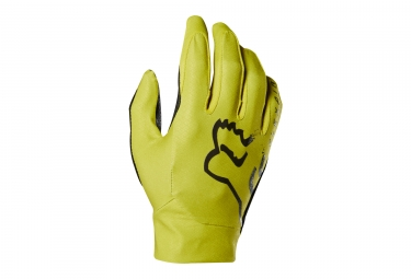 Gants long fox flexair jaune m
