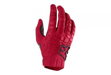 gants longs fox sidewinder rouge l