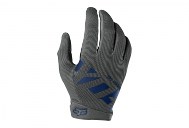 Gants longs fox ranger gel gris m