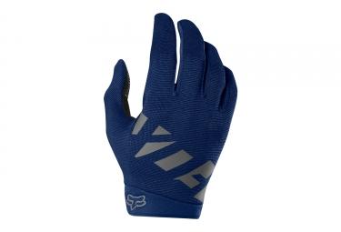 gants longs fox ranger bleu fonce s