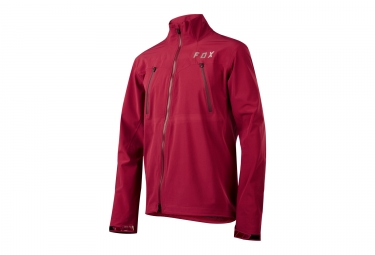 veste impermeable fox attack pro water rouge l