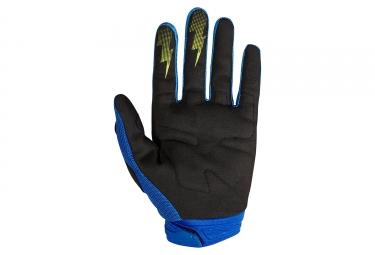 Gants Longs Fox Dirtpaw Race Bleu