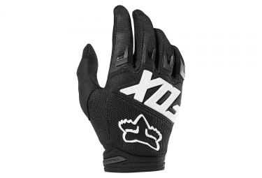 Gants longs enfant fox dirtpaw race noir kid m