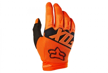 gants enfant fox dirtpaw race orange xs