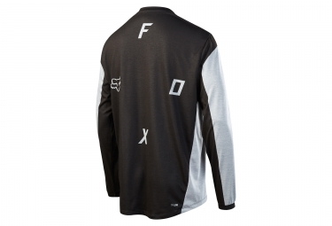 Maillot Manches Longues Fox Indicator Moth Gris Noir