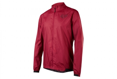 veste coupe vent fox attack wind rouge l