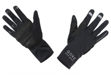gants gore bike wear universal windstopper mid noir 3xl