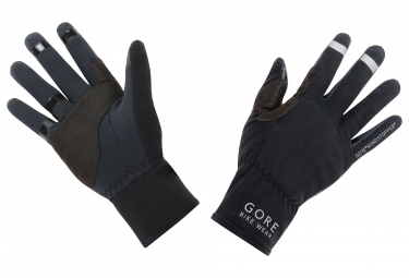 Gants gore bike wear universal windstopper noir 3xl