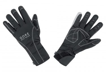 gants thermique gore bike wear road windstopper thermo noir 3xl