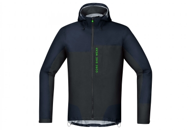 veste gore bike wear power trail gtx active bleu noir s