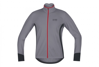 veste gore bike wear power thermo gris s
