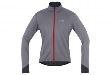veste gore bike wear power 2 0 ws soft shell gris l