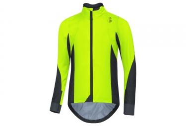 veste gore bike wear oxygen gtx active jaune fluo noir s