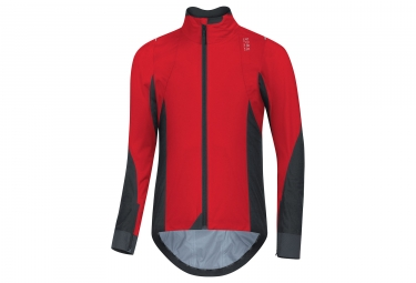 Veste gore bike wear oxygen gtx active rouge noir s