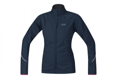 Veste femme gore running wear essential lady windstopper active noir l