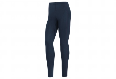 Collant Long Femme Gore Running Wear Essential Lady Thermo Bleu