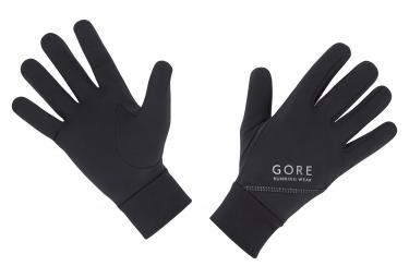 gants gore running wear essential noir l