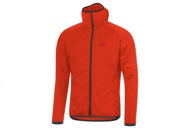 veste gore bike wear element urban windstopper orange m
