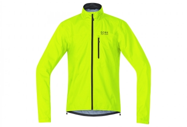 veste impermeable gore bike wear element gtx active jaune fluo xl