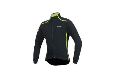 Veste coupe vent spiuk elite plus noir jaune xl