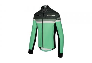 veste coupe vent spiuk performance vert noir s