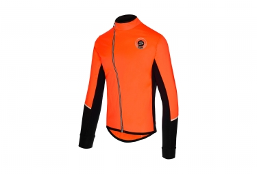 Veste coupe vent spiuk race orange s