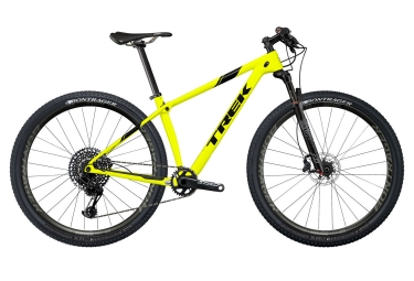 Vtt semi rigide trek 2018 procaliber 9 8 sl 29 sram gx eagle 12v project one jaune n