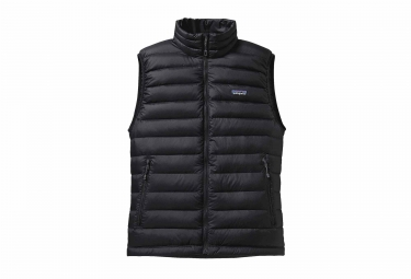 Patagonia Sweater Sleeveless Down Jacket Black