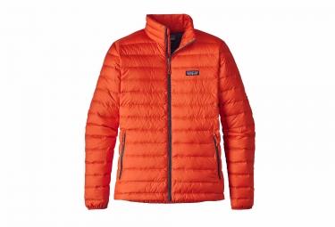 Patagonia Sweater Down Jacket Orange