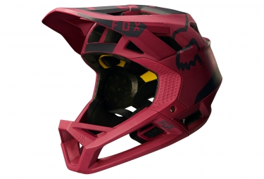casque fox proframe moth rouge m 56 58 cm