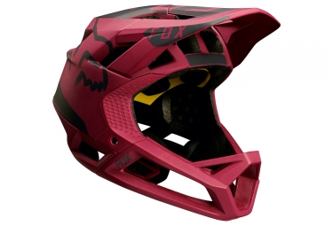 Casque Fox Proframe Moth Rouge