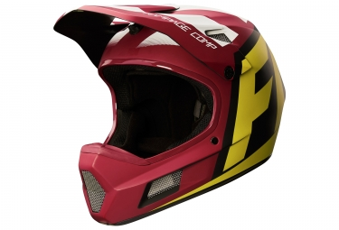 casque fox rampage comp creo rouge jaune xl 61 62 cm