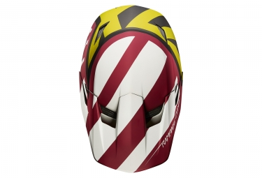Casco Integral Fox Rampage Comp Creo Jaune / Rouge